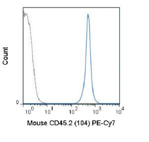 Anti-CD45.2 Mouse Monoclonal Antibody (PE (Phycoerythrin)/Cy7®) [clone: 104]