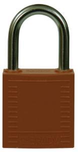 Compact safety padlocks