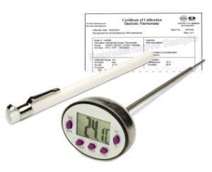 Stem thermometer with auto off