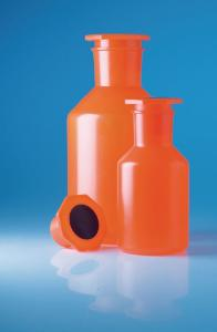 Bottles, wide neck, with NS stopper