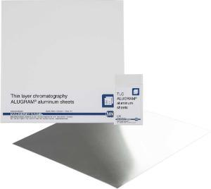 TLC aluminum sheets, silica gel layer, ALUGRAM ×tra SIL G, 20×20 cm