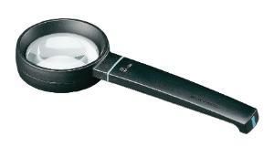 Aspheric reading magnifier